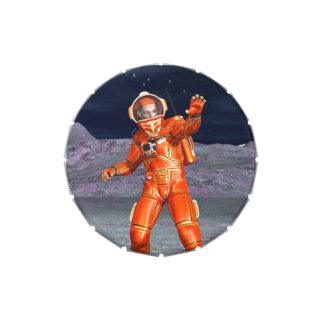 Astronauta Frascos De Dulces