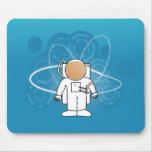 Astronauta fresco Mousepad Tapete De Ratón