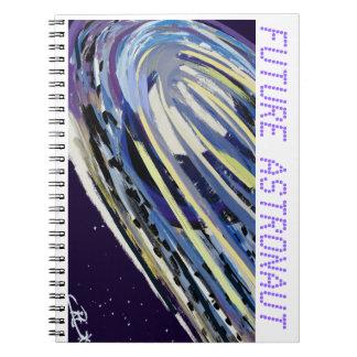 Astronauta futuro libro de apuntes