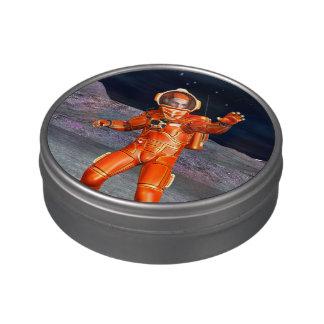 Astronauta Jarrones De Caramelos
