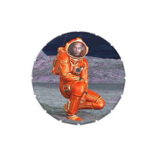 Astronauta Jarrones De Dulces