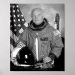 Astronauta John Glenn Poster