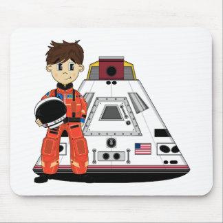 Astronauta lindo Mousepad