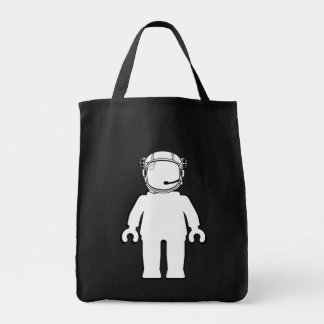 Astronauta Minifig del estilo de Banksy Bolsa Tela Para La Compra