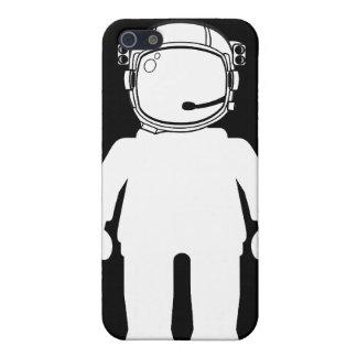Astronauta Minifig del estilo de Banksy iPhone 5 Carcasas
