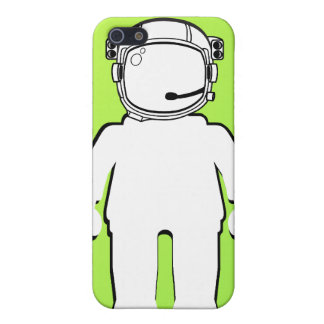 Astronauta Minifig del estilo de Banksy iPhone 5 Fundas