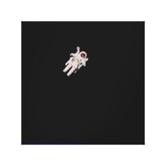 Astronauta que flota en el espacio abierto - NASA- Impresiones En Lona