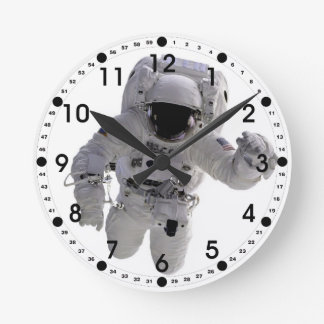Astronauta Reloj Redondo Mediano