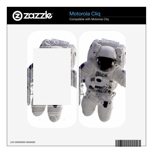 Astronauta Skins Para Motorola Cliq