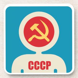 astronauta soviético posavasos