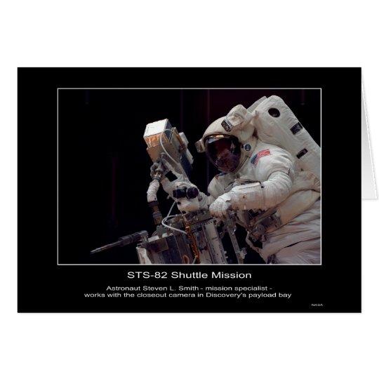 Astronauta Steven L. Smith - especialista de misió Tarjeta De Felicitación