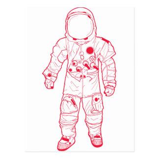 Astronauta Tarjeta Postal