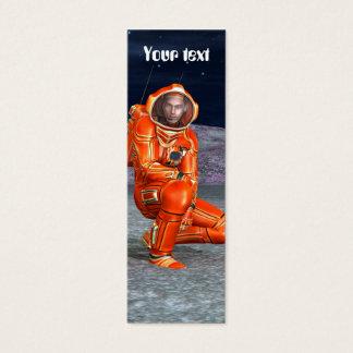 Astronauta Tarjetas De Visita Mini