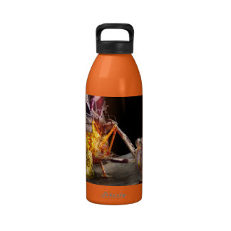 Astronauta - un pequeño paso botella de beber