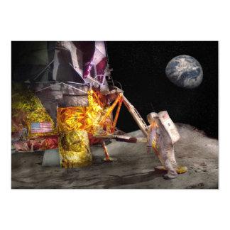 Astronauta - un pequeño paso invitacion personal