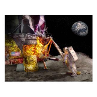 Astronauta - un pequeño paso postal