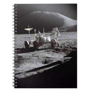 Astronauta y Rover Libreta