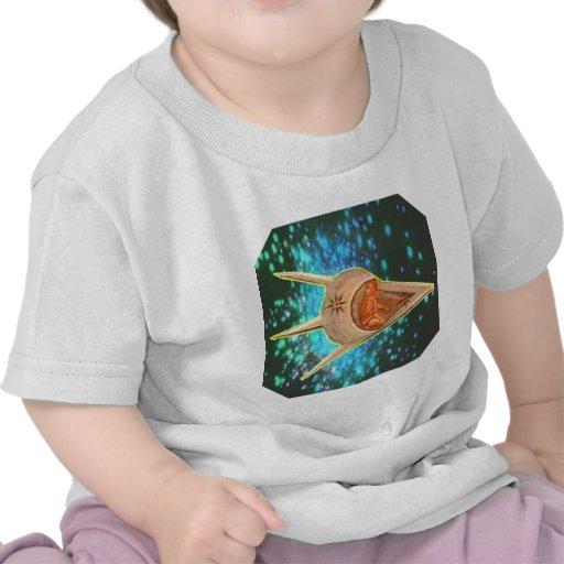 Astronautas antiguos camiseta
