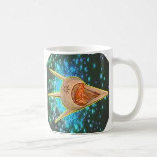Astronautas antiguos tazas de café