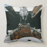 Astronautas del transbordador espacial cojín