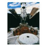 Astronautas del transbordador espacial postal