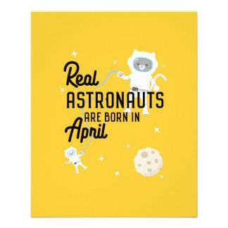 Astronauts are born in April Zg6v6 Flyer