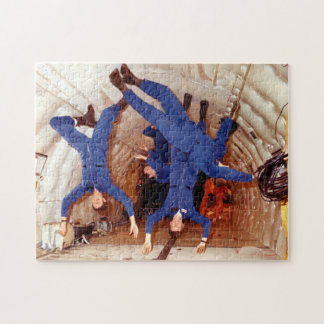 Astronauts Experience Weightlessness Jigsaw Puzzle