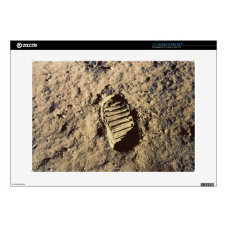 Astronaut's Footprint Laptop Skins