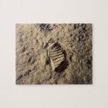 Astronaut's Footprint Puzzles