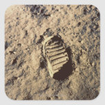 Astronaut's Footprint Sticker