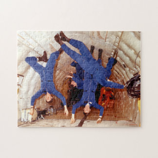 Astronauts In Weightless Training Jigsaw Puzzle