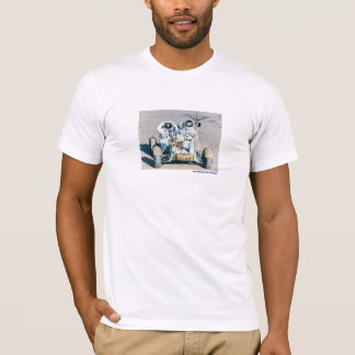 Astronauts on Rover T-Shirt