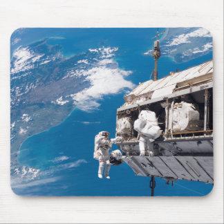Astronauts participate in extravehicular activi 2 mouse pad