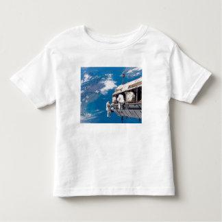 Astronauts participate in extravehicular activi 2 toddler t-shirt