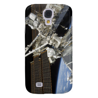 Astronauts perform a series of tasks galaxy s4 cover