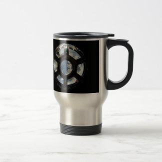 Astronauts View from Space Station 15 Oz Stainless Steel Travel Mug