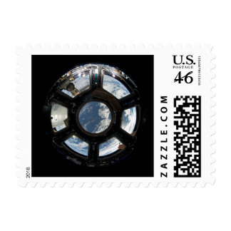 Astronauts View from Space Station Postage Stamps