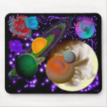 Astronauts View Mouse Pad