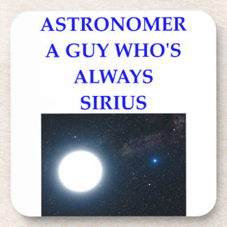ASTRONOMER DRINK COASTER