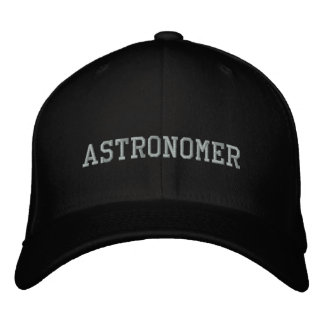 Astronomer Embroidered Hat