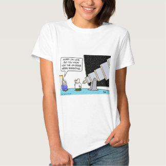 astronomer late universe keeps expanding t-shirt