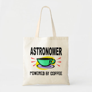 Astronomer Powered By Coffee Budget Tote Bag