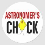 Astronomer's Chick Stickers