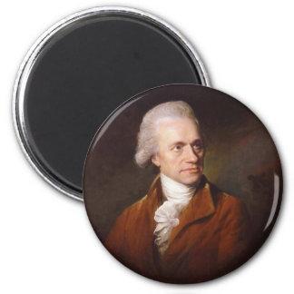Astronomer Sir Frederick William Herschel Portrait 2 Inch Round Magnet