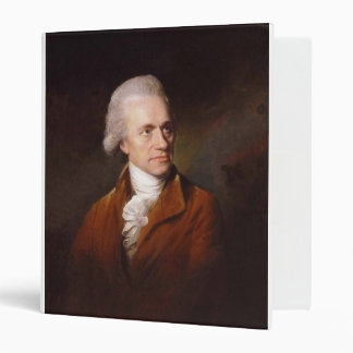 Astronomer Sir Frederick William Herschel Portrait 3 Ring Binder