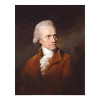Astronomer Sir Frederick William Herschel Portrait Card