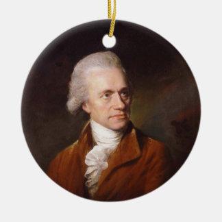 Astronomer Sir Frederick William Herschel Portrait Ceramic Ornament