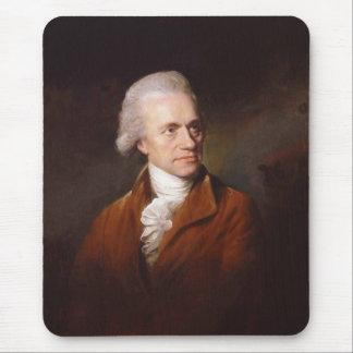 Astronomer Sir Frederick William Herschel Portrait Mouse Pad