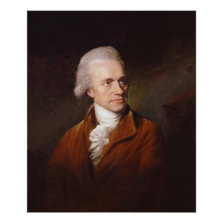 Astronomer Sir Frederick William Herschel Portrait Poster