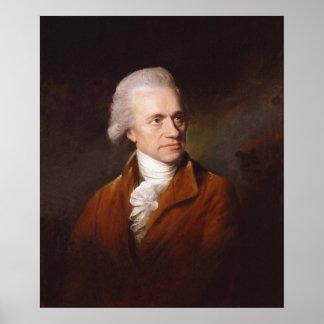 Astronomer Sir Frederick William Herschel Portrait Poster